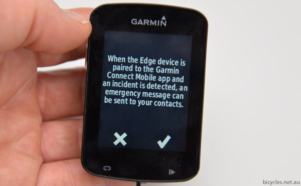 garmin incident detection
