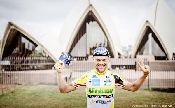 ultra cycling perth sydney record