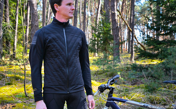 stylish winter cycling jacket