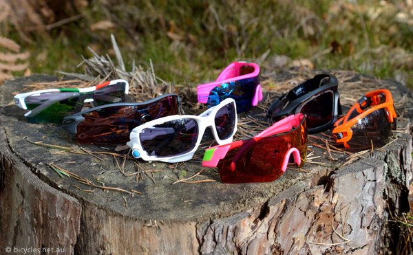 cycling glasses lens colour