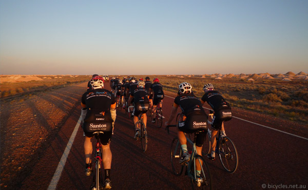 charity cycling australia