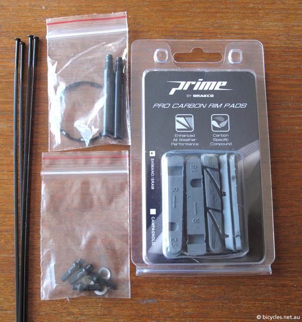 carbon brake track pads