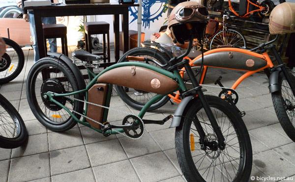 e bike steam punk