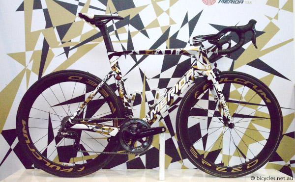 pro team bike merida bahrain