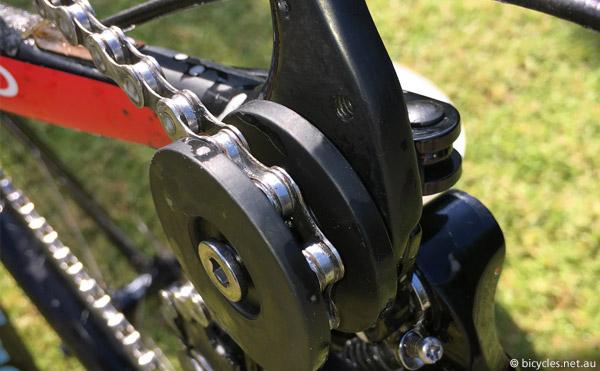 shiny clean bike