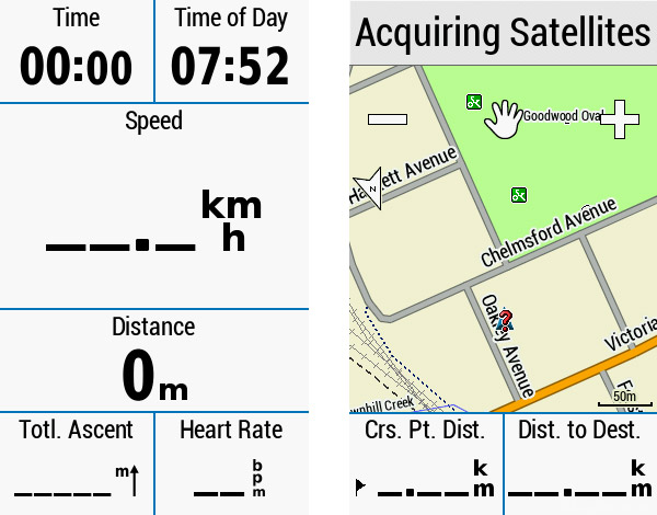 garmin 1030 navigation metrics