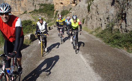 Trans-Pyrenees Riding out of the Canyon