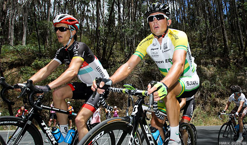 simon gerrans greenedge Tour Down Under