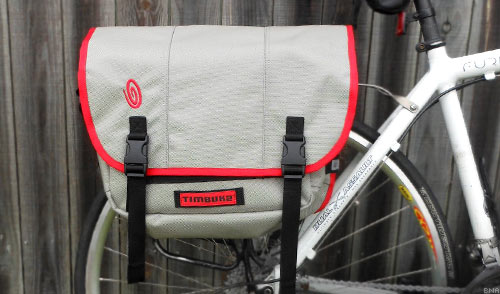 64f0bb4df19e Back or Rack  Timbuk2 Shift Pannier Messenger Bag review