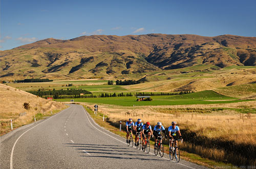 The Tour of New Zealand Burkes Pass