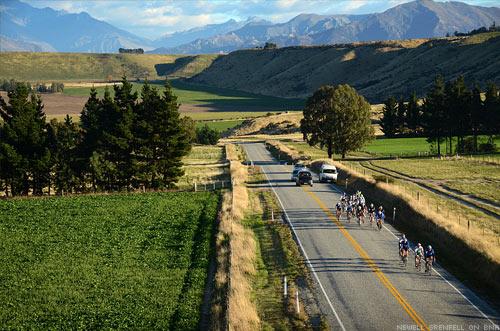 The Tour of New Zealand - Tekapo Bunch Riding