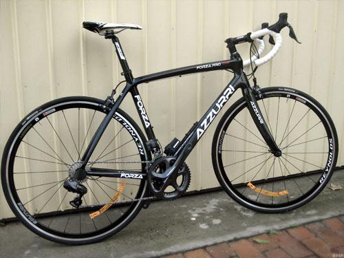 Cycling Express unpacked Carbon Fibre Azzuri
