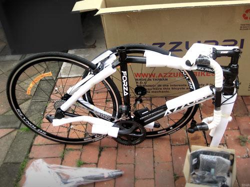 Unpacking Cycling Express