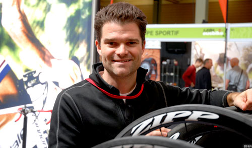 Josh Poertner Zipp Wheels Technical Director