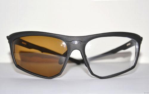 Sports Optical Custom Brown Polarized Clear Lense