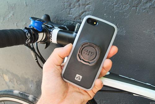 Quadlock iPhone5 Bicycle Mount