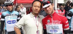 Bin Tan Binny Falco Bikes Mark Cavendish