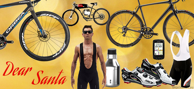 Christmas Xmas Cycling Shopping wish list