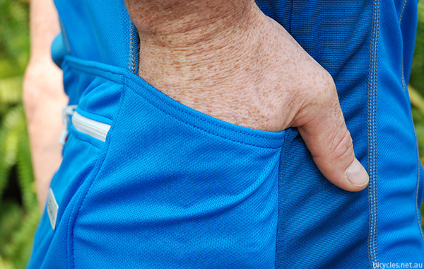 Cycling Jersey Pocket Space