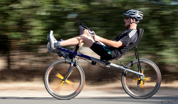 Recumbent Sore Back Cycling