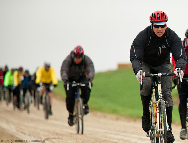 Nokomis O2 Cycling Rain Jacket