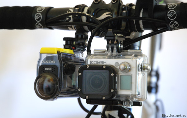 GoPro Hero3 Black Comparison Sony Action Cam