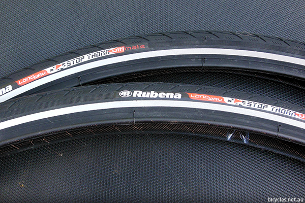 Rubena Flash Anti Puncture Bicycle Tyres
