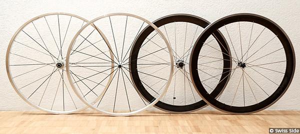 Swiss Side Wheelset Design Prototypes