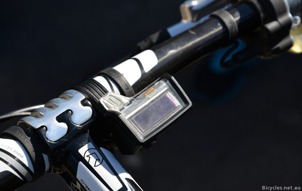 XTR Di2 electronic display