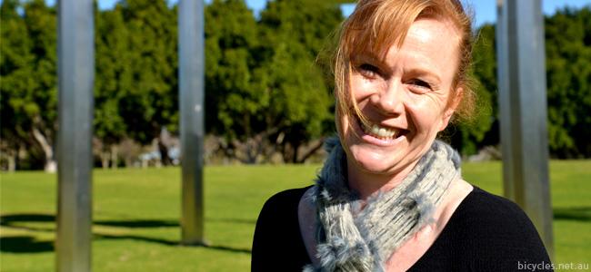 Sophie Bartho Advocacy Bicycling NSW