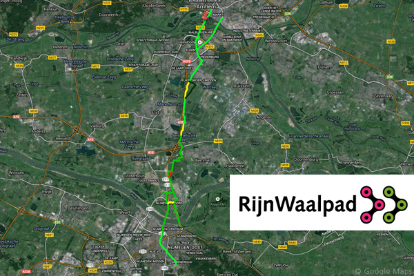Rijnwaalopad Cycle Route