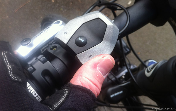 ebike controller shifting