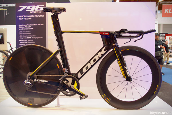Look 796 time trial triathlon bicycle
