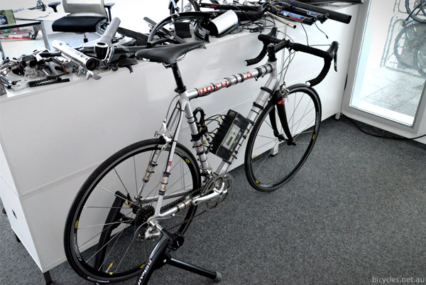 Strain Guage bike testing