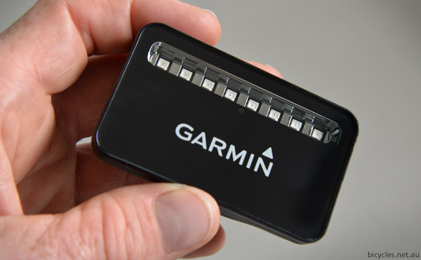 Garmin Bike Radardetection
