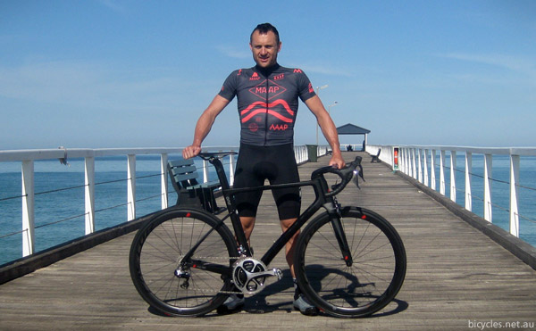 Baden Cook Factor Bicycles Tour Down Under
