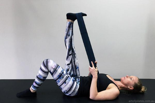 cycling pilates hamstring stretch