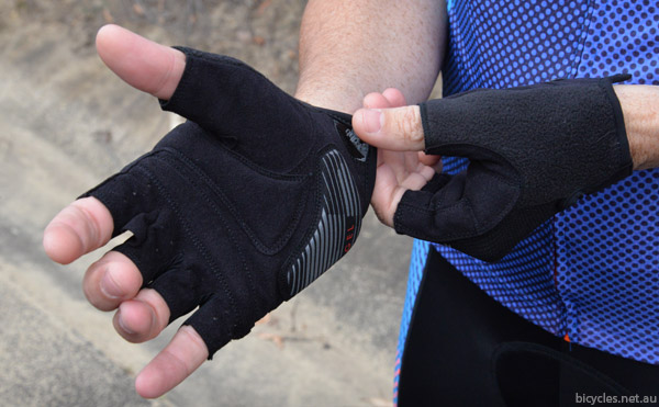 dhb cycling gloves