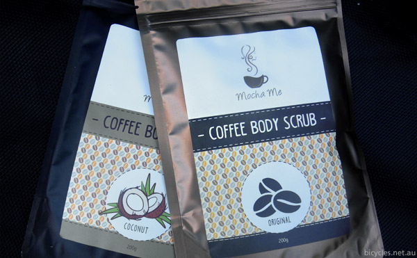 cyclist body scrub