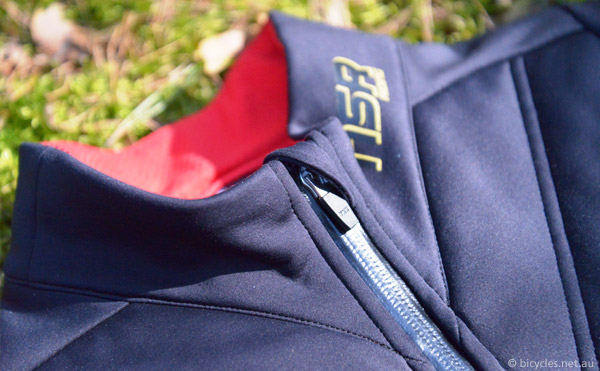 cycling jacket zipper