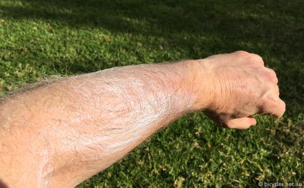 cycling sunscreen pedalit