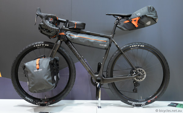 ortlieb gravel grinder bike-packing