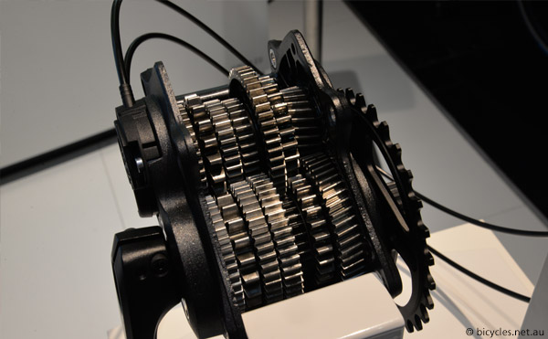 pinion gearbox