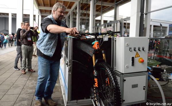 industrial bike washing machine