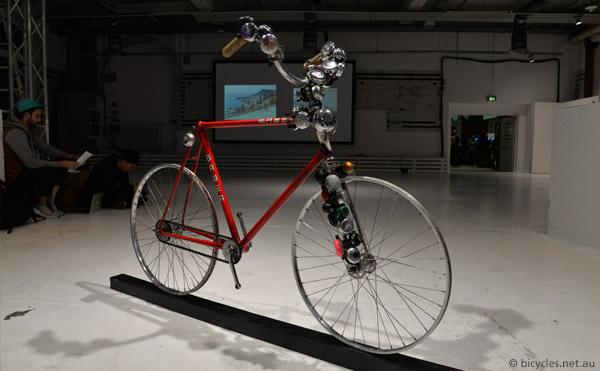 bicycle artwork berlin