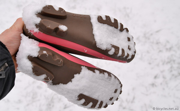grip cycle shoes snow