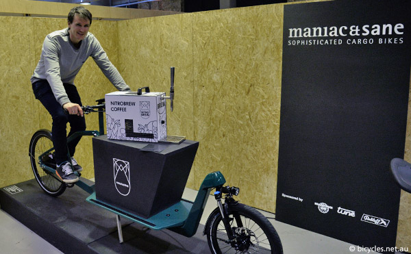 mania sane carbon fiber cargo bike