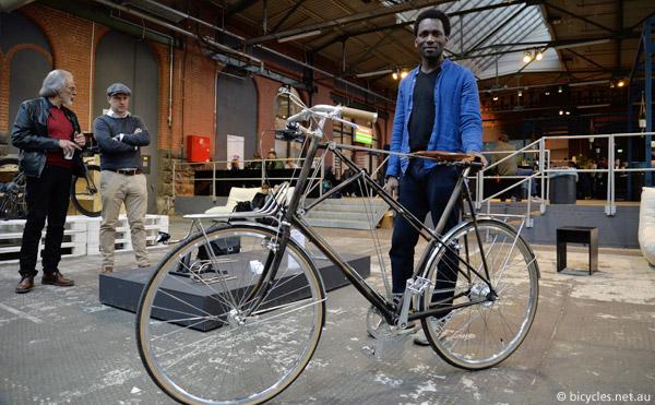 sahabi arouna velopedart bicycle