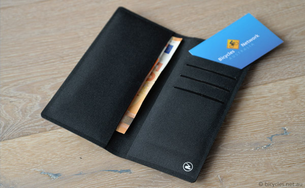 phone wallet riding cycling