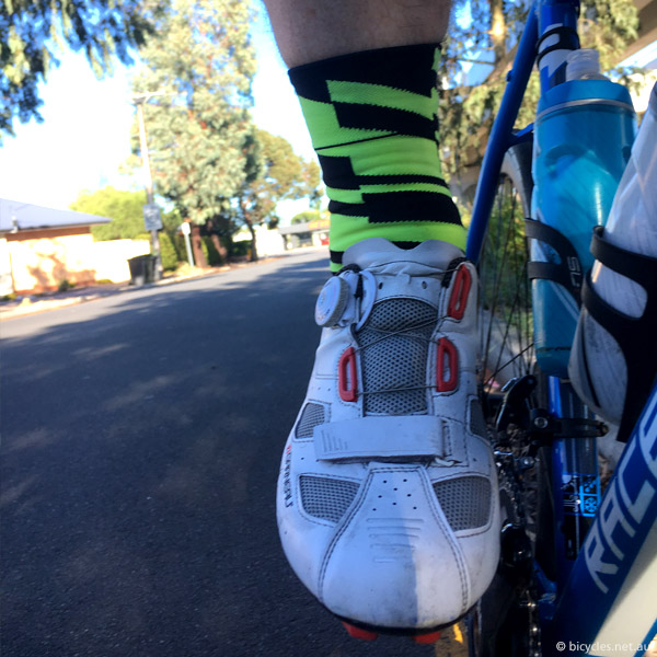 cycling socks test